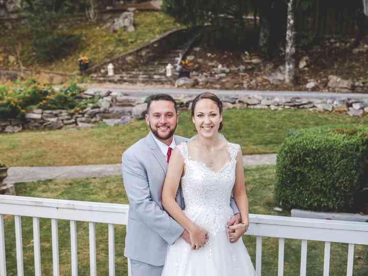 The wedding of Keyanna and Cameron