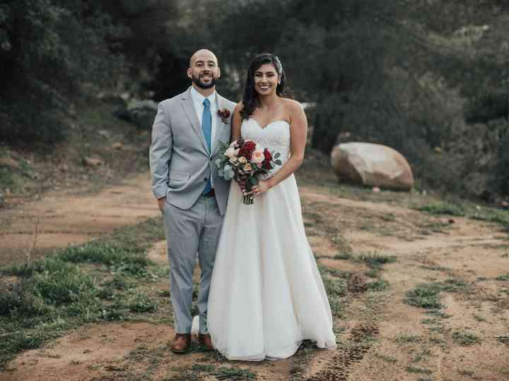 The wedding of Viri and Erick