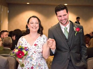 The wedding of Veronica and Mike