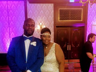 The wedding of Kellie  and Jermaine