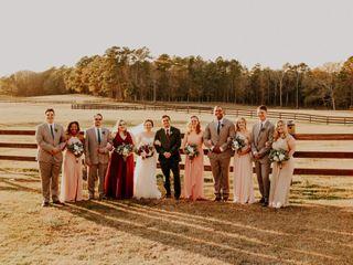 The wedding of Allison and Sawyer 2