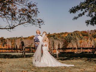 The wedding of Catherine and Jason