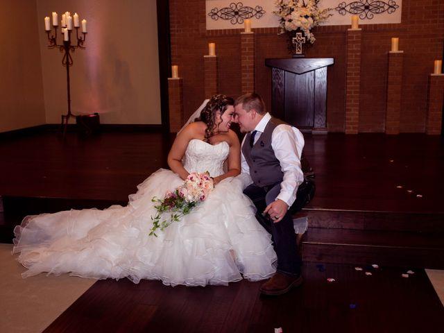 The wedding of Alexa and Jason