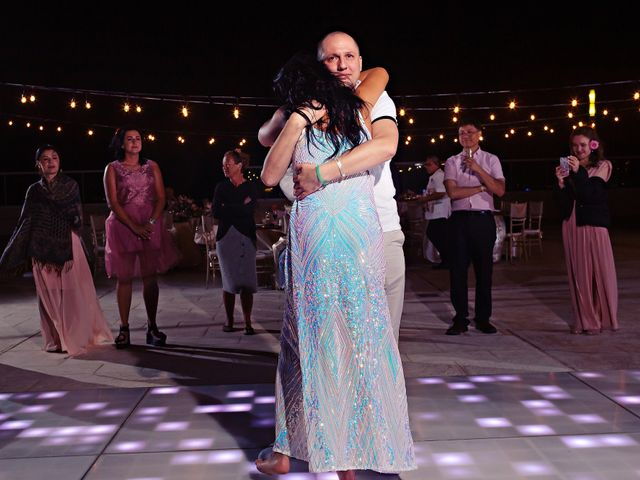Chase and Ekaterina's Wedding in Cancun, Mexico 10