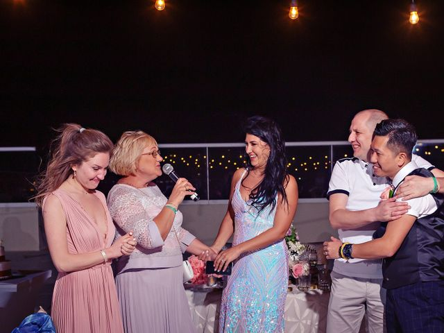 Chase and Ekaterina's Wedding in Cancun, Mexico 14