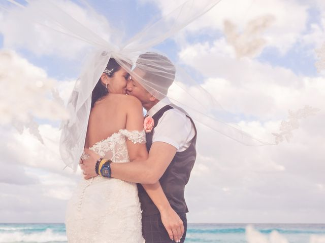 Chase and Ekaterina's Wedding in Cancun, Mexico 23