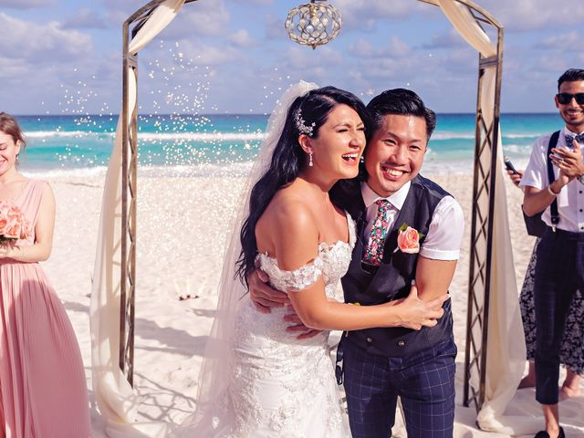 Chase and Ekaterina's Wedding in Cancun, Mexico 26