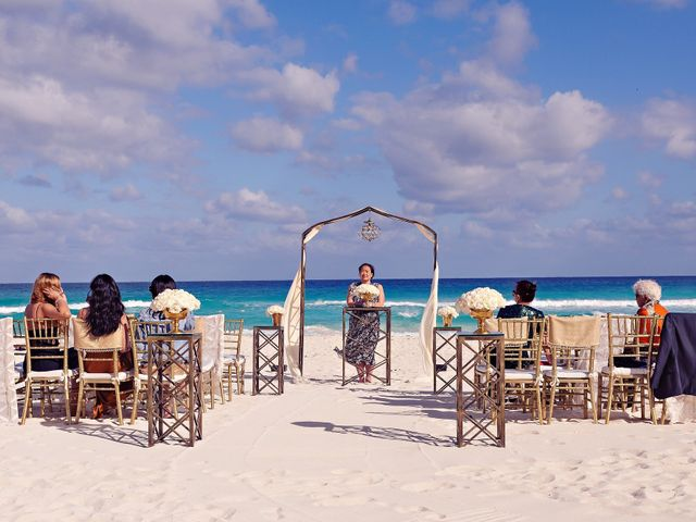 Chase and Ekaterina's Wedding in Cancun, Mexico 30