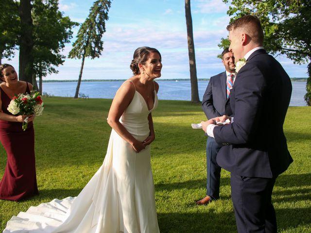 Dennis and Michaeelena's Wedding in Geneva, New York 85