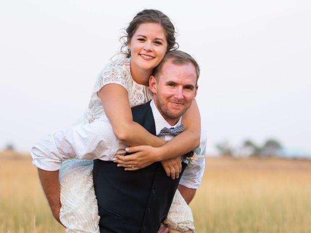 The wedding of Jenna and Chris