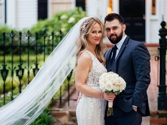 The wedding of Amanda and Vinni