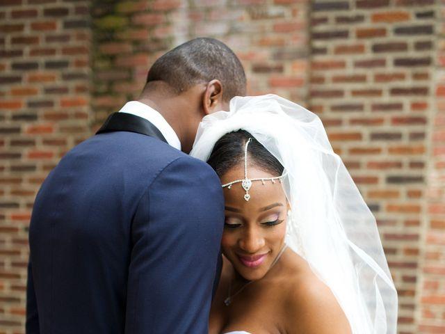 Chika and Joseph's Wedding in Greensboro, North Carolina 4