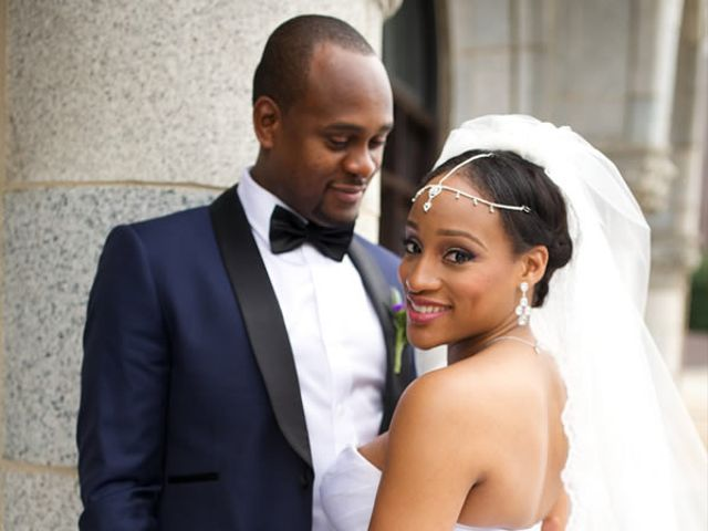 The wedding of Joseph and Chika