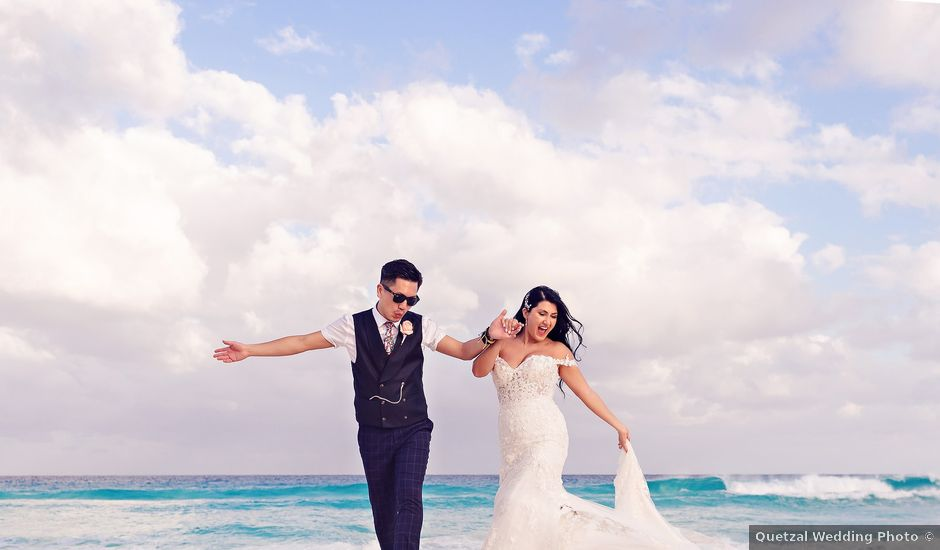 Chase and Ekaterina's Wedding in Cancun, Mexico