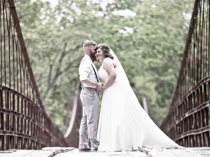 The wedding of Abby and Joshua