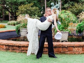 The wedding of Lauren and Curtis