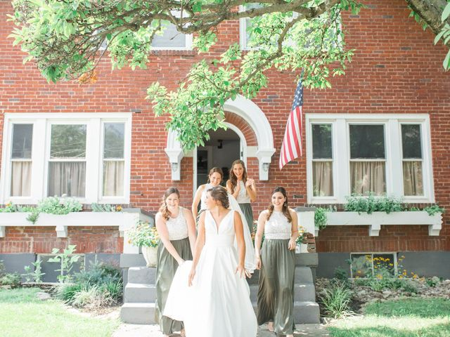 Michael and Claire's Wedding in Covington, Kentucky 17