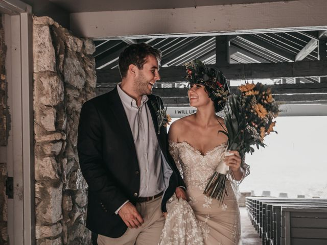 The wedding of Vic and James