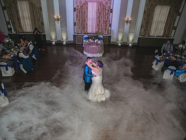 The wedding of Lauren  and Josh