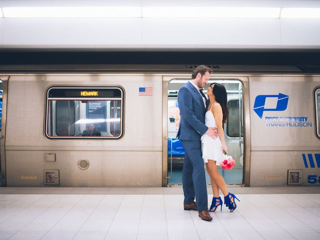 Evelien and Kevin's Wedding in New York, New York 8