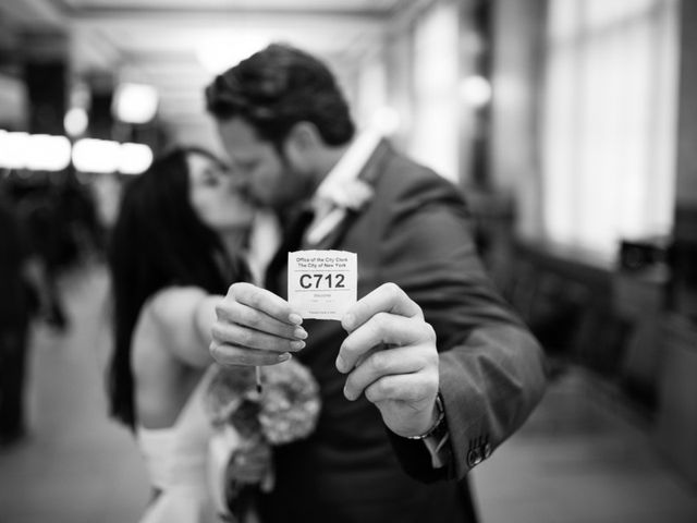 Evelien and Kevin's Wedding in New York, New York 13