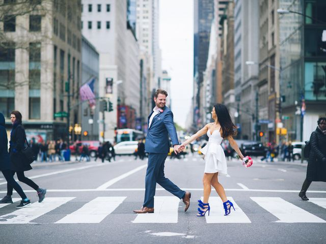 Evelien and Kevin's Wedding in New York, New York 16