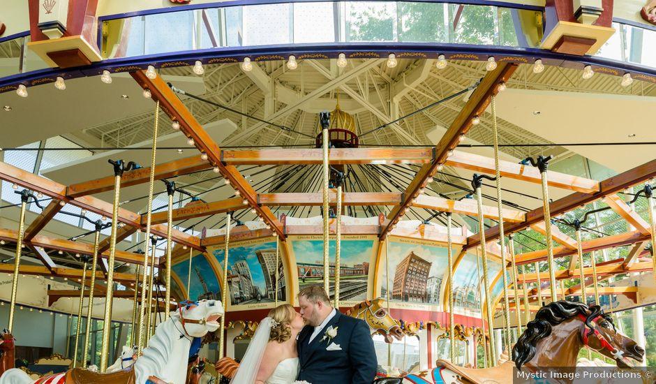 Brad and Andrea's Wedding in Cleveland, Ohio