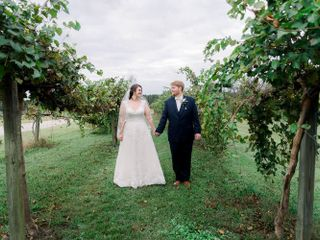 The wedding of Russell and Morganne