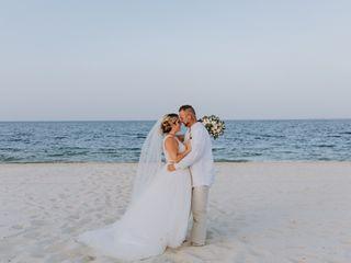 The wedding of Katy and Chris