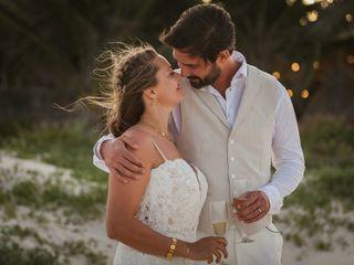 The wedding of Angela and Chatay