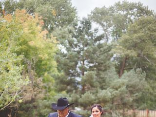 Rebecca and Bud's Wedding in Mora, New Mexico 17
