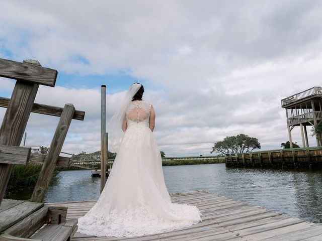 Morganne and Russell's Wedding in Sunset Beach, North Carolina 12