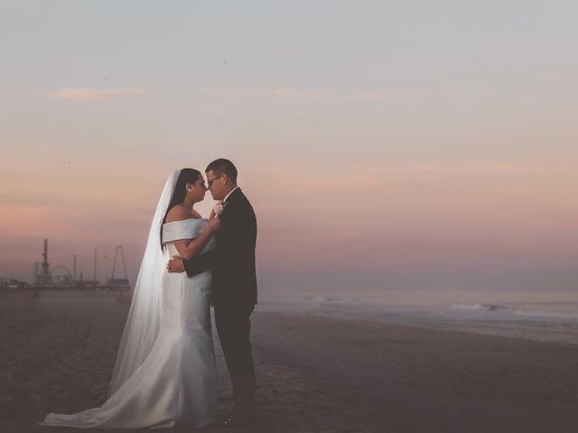 The wedding of Rachel and William