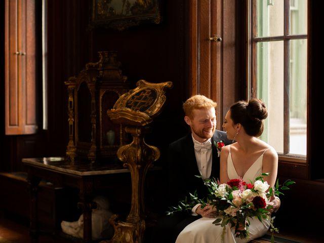 The wedding of Christina and Tim