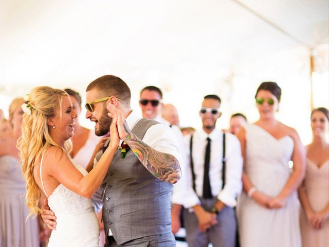 Anna and Mike's Wedding in Little Compton, Rhode Island 22