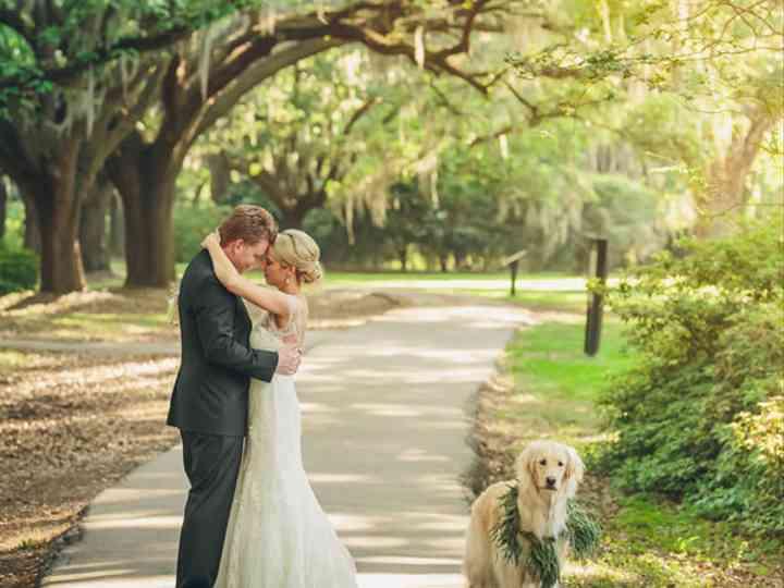 The wedding of David and Heather