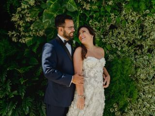 The wedding of Ana María and Luis