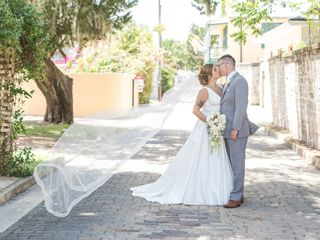 The wedding of Grace and Chris