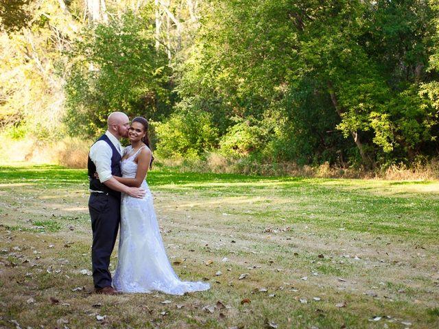 The wedding of Laqueisha and Cory