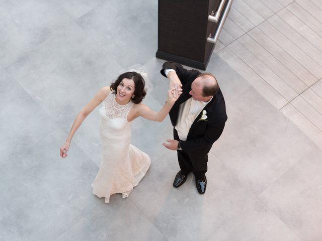 The wedding of Mary and Joe