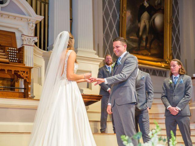Paul and Sammantha's Wedding in Worcester, Massachusetts 24