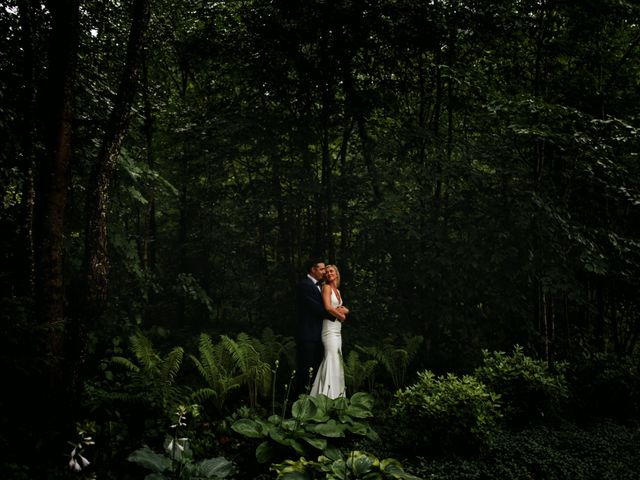 The wedding of Ally and Ellis