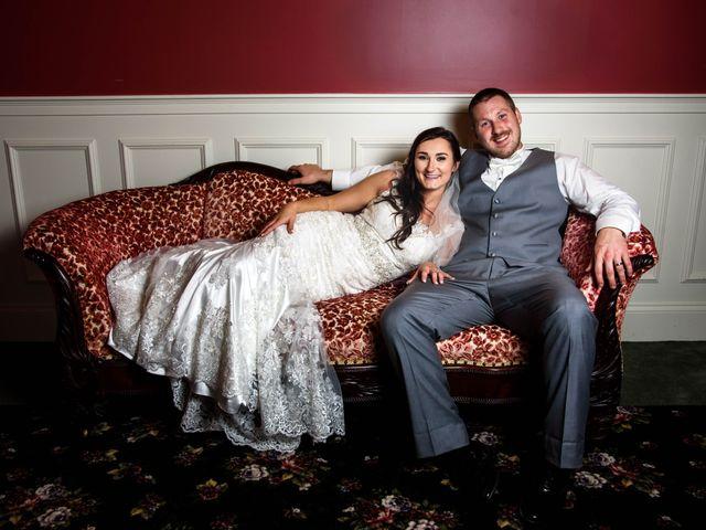 The wedding of Kayla and Garry
