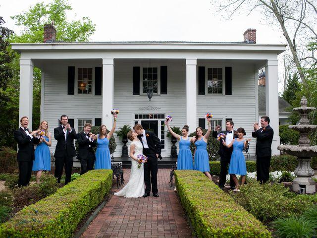 Jennifer and Cory's Wedding in Roswell, Georgia 7