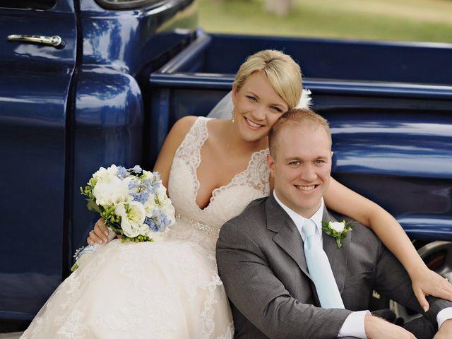 The wedding of Adam and Katie