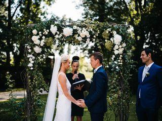 The wedding of Rachel and Kristian
