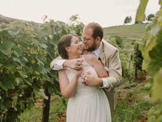The wedding of Matt and Robyn