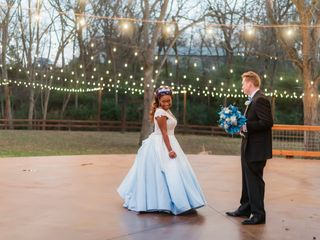 The wedding of Nate and Demaura
