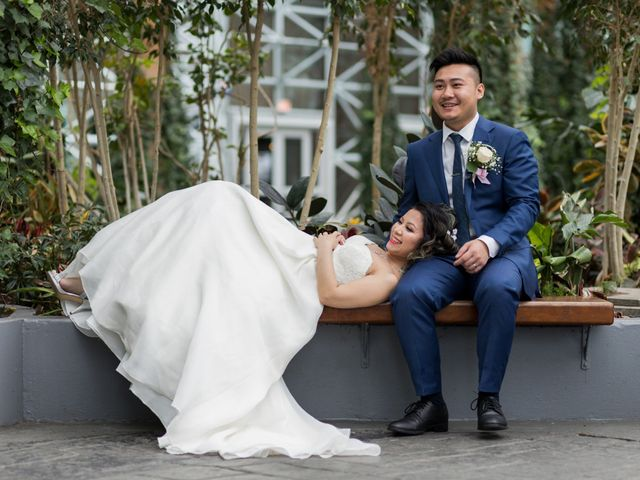 Trinh and Vince's Wedding in Des Plaines, Illinois 56