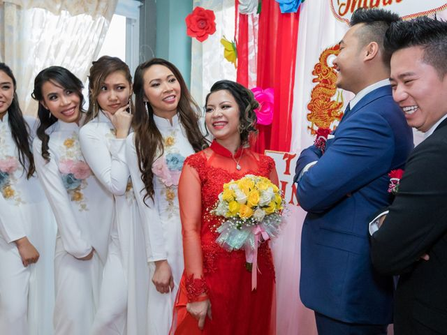 Trinh and Vince's Wedding in Des Plaines, Illinois 65